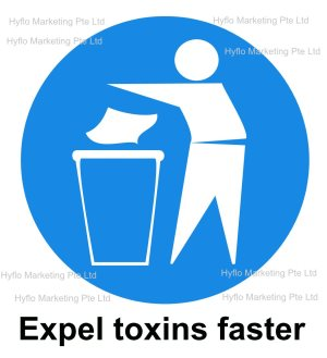 alkaline water help expel body toxin faster