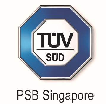 quality tested by TUV PSB Singapore